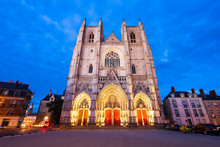 St. Peter Cathedral In Nantes