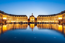Place De La Bourse Square, Bordeaux