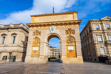Łuk Triumfalny Triomphe, Montpellier