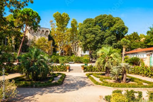 Jardin plantes botanical garden, Montpellier