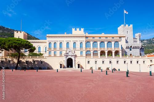 The Prince Palace of Monaco
