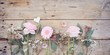 canvas print picture - Frühlingsblumen Blumenstrauß rosa - Muttertag Hochzeit Geburtstag Hintergrund
