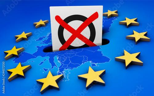 plakat Europawahl