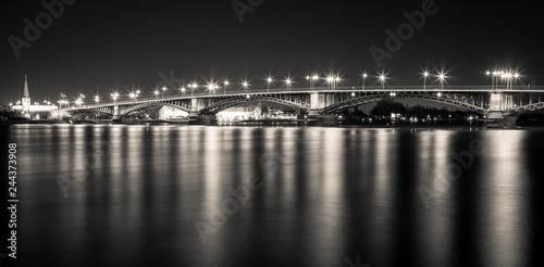 Theodor-Heuss-Brücke Panorama