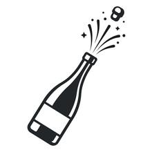 Champagne Bottle Pop