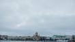 Saint Petersbourg à la tombée de la nuit