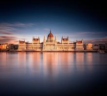 The Hungarian Parliament In Su...