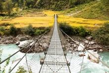 Rope Hanging Suspension Bridge...
