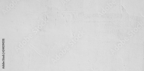 Abstract Grunge Decorative White Stucco Wall Background Fototapeta