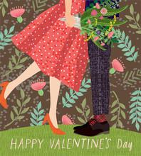 Happy Valentine's Day! Cute Ca...