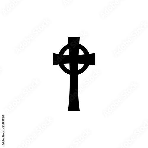 Valokuva  religion symbol, Celtic cross icon