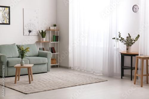 Fotografia  Beautiful interior of modern room