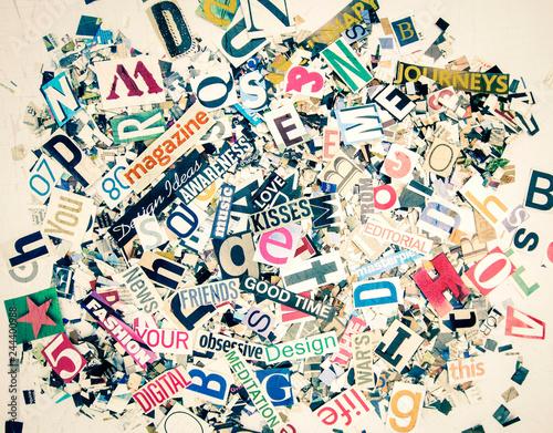 Obrazy z napisami  random-letters-and-words