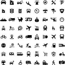 Icon Set Transportation