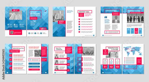 Fényképezés  Brochure creative design