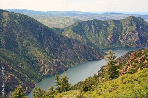 Poster Ligurie Gunnison River - Black Canyon of the Gunnison National Park - Colorado