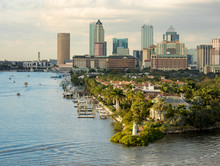 View Of Downtown Tampa, Florid...