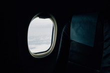 View From The Window Seat Of A...