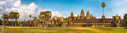 Fototapeta Angkor Wat  at sunset. Siem Reap. Cambodia. Panorama obraz