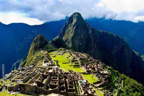 Machu Picchu Inca Ruins - Peru Canvas Print