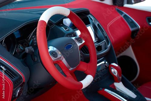 Steering wheel Wallpaper Mural