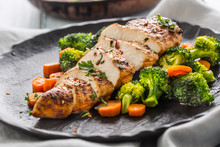 Roasted Chicken Breast With Br...