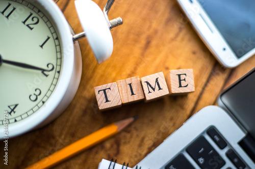 TIME 時間管理 Fototapeta