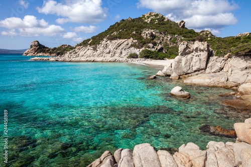 Scenic Sardinia island landscape