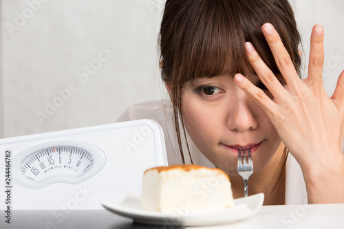 Photo ダイエット・ケーキの誘惑