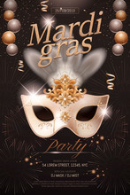 Mardi Gras Poster Design