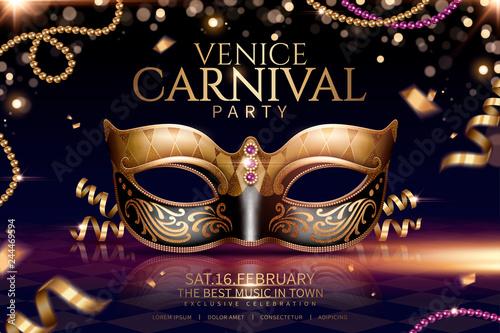 Fotografia Venice carnival glamours design