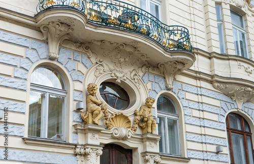Prague, Czech Republic, Architecture. Prague is one of the most popular cities in Europe, luring tourists with its extraordinarily beautiful city scenery, historical attractions.