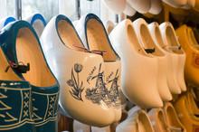 Colorful Vintage Dutch Wooden ...