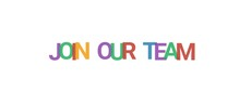 Join Our Team Word Concept