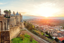 Carcassonne. France . Beautifu...