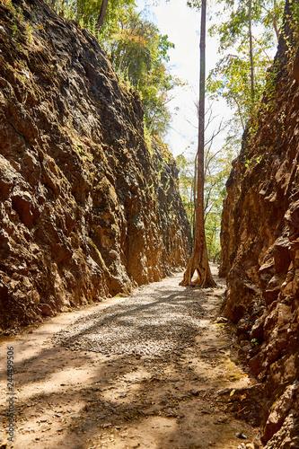 Fényképezés Hellfire pass, Kanchanaburi, Thailand