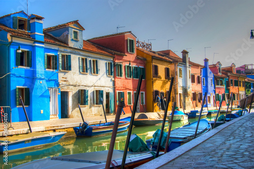 Fototapety, obrazy: The colors of Burano