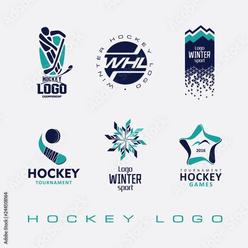 Ice Hockey Tournament Logo Buy This Stock Vector And Explore