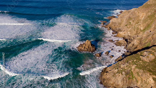 Tuinposter Centraal-Amerika Landen Beautiful aerial view of the coast