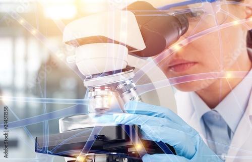 Fotografia  Medical research laboratory science pharmaceutical scientist