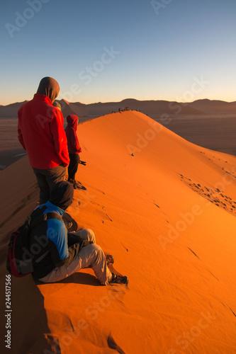 Keuken foto achterwand Marokko Namibia Sunrise of the Namib desert