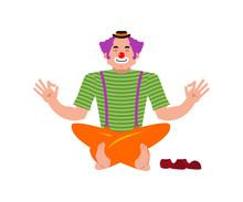 Clown Yoga. Yogi Funnyman. Har...