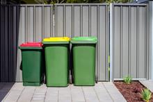 Australian Home Rubbish Bins Set