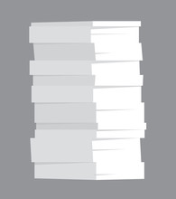 Huge Stack Of Paper