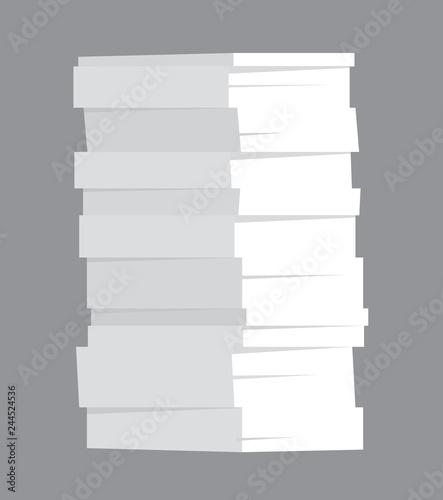 Obraz na plátně  Huge stack of paper
