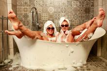 Bathroom Interior And Slim You...