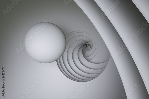 3d rendering, surface and graphic design background