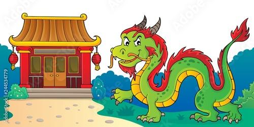 Chinese dragon theme image 3