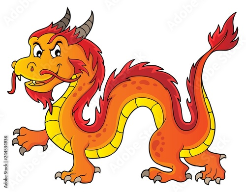 Chinese dragon theme image 5