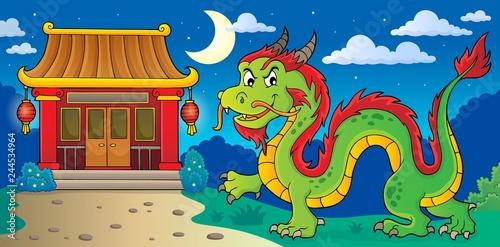 Chinese dragon theme image 4